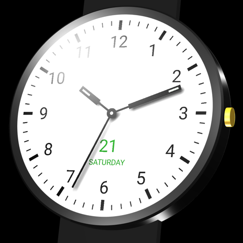 Classical I watch face