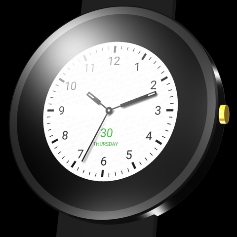 Energy watch face
