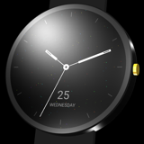 Sparkling watch face